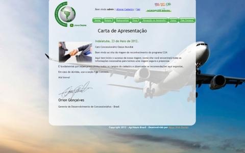 Hotsite –  Agritours Brasil