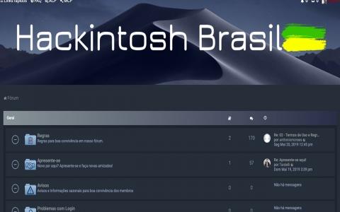 Hackintosh Brasil – Fórum